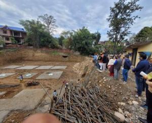 Construction-of-mini-secretariat-in-Sandhol-in-full-swing