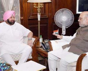 Amarinder-said-after-meeting-Shah-national-security-may-be-affected-by-the-movement