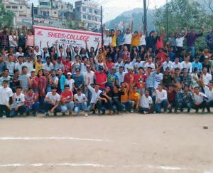 शेड्स सी.एच.एम. संस्थान में दो दिवसीय खेल प्रतियोगिता का आयोजन