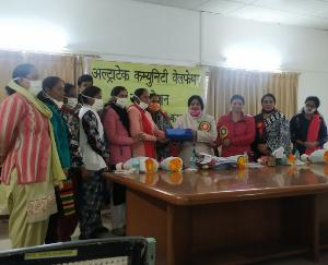 Training-camp-concluded-in-Dadlaghat-48-women-participated