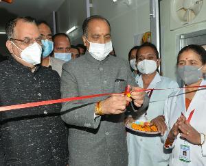 cm Jai Ram Thakur launches campaign from IGMC Shimla