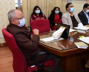 Chief Secretary chaired review meeting related to Golden Jubilee Celebrations
