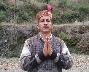 Gyan-Chandra-took-charge-of-Gram-Panchayat-Chhausha-with-318-votes-defeated-7-rivals