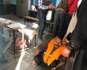 45.26 percent voters used vote in Nalagarh