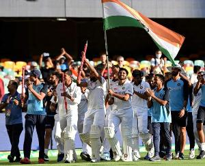 Team-India-created-history-in-Brisbane-broke-70-year-old-record