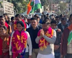 Sujanpur MC Congress-backed Veena Dhiman becomes president