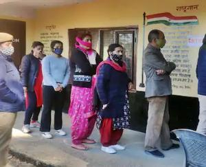 72.40 percent people voted in district Shimla, highest voting in Theog