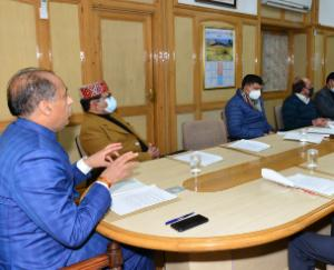 Chief Minister gave instructions to Deputy Commissioners to celebrate full Statehood Day