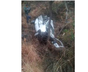 car accident on chamba saluni  2 dead