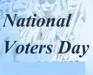 11th National Voters' Day to be celebrated on 25th January 2021
