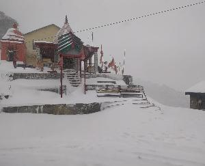 NH-305 once again closed for traffic due to snowfall