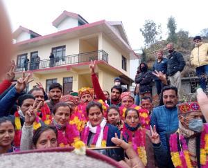 BJP captured Nirmand Panchayat Samiti in Kullu