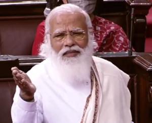 In-the-Rajya-Sabha-Prime-Minister-Narendra-Modi-targeted-the-opposition