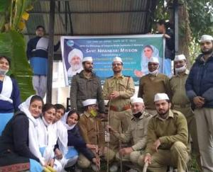 Cleanliness and plantation campaign launched by Nirankari volunteers