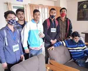 NSUI accuses government of ignoring demands in Teesa College