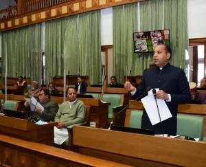 Chief Minister Jairam Thakur presented the economic survey report