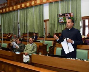 Chief Minister Jairam Thakur presented the economic survey report