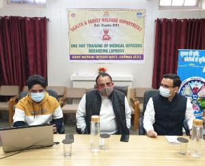 One day training camp organized under Laparosi program, made people aware