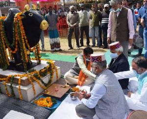 Bilaspur: Deputy Commissioner Rohit Jamwal inaugurated the Nalwadi fair in a simple manner
