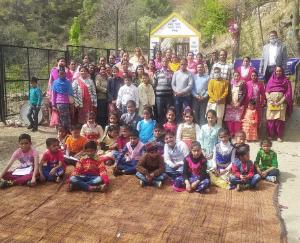 Dadlaghat: Education Dialogue organized in Government Primary School, Davaru