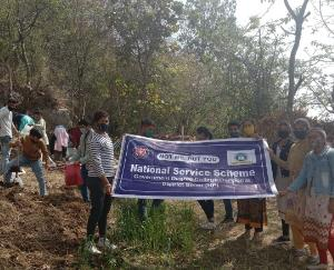 NSS camp organized in government college