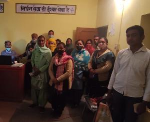Training camp organized in Dadlaghat Gram Panchayat Parnu