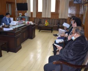 10th meeting of District Level Chief Minister Swavalamban Scheme organized