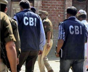 CBI filed charge sheet against three of its officers for taking bribe