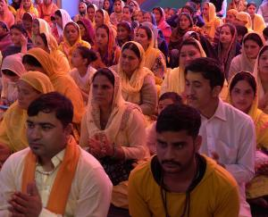 Dadlaghat: Shrimad Bhagwat Katha of fifth day narrated in gram panchayat Guyana