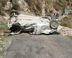 Road accident occurred in Kullu, 3 people died