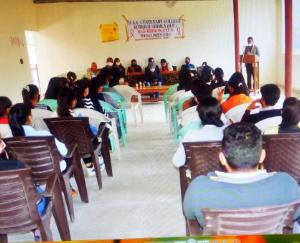 Shimla: NSS and Health Department Seminar organized in DAV College Kotkhai