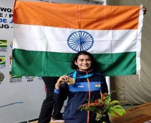 India's Yashaswini won gold in 10-meter air pistol at ISSF World Cup