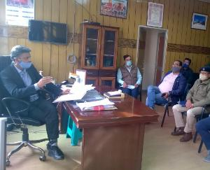 a meeting was held with the Board members