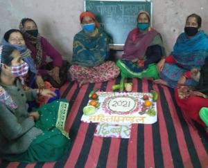 Maternal baby nutrition fortnight organized in Chhibber village