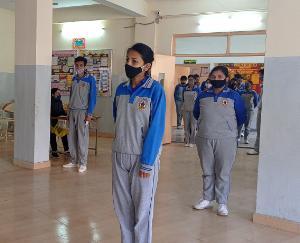election voting activity organized in Gurukul School