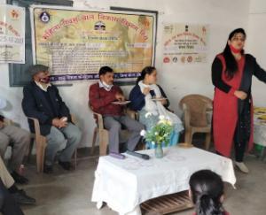 Nutrition Pakwara Camp organized at Dagshai Cantt Board