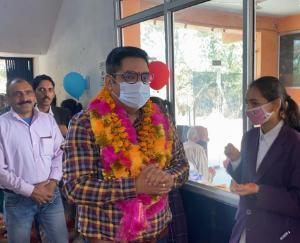 Chandra Mohan Sharma inaugurates modern Atal Tinkering Lab at SPS School