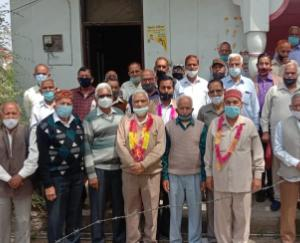 Jagdish Singh becomes head of Pensioners Association