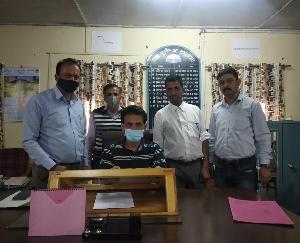 Members of Bharatiya Kisan Sangh Khand Kunihar submitted memorandum to Chief Minister