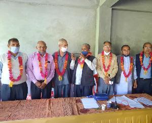 पेंशनर्ज एवं वरिष्ठ नागरिक कल्याण संगठन पट्टाबराबरी- हरिपुर इकाई की कमान एक बार फिर डी डी कश्यप के हाथ