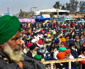 Farmers protest against agricultural laws