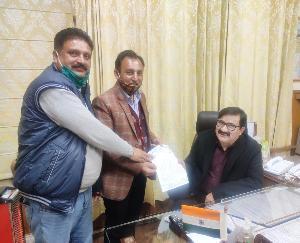 Himachal Government Teachers' Union met Education Minister Govind Thakur