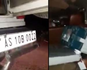 EC action on receipt of EVM from BJP candidate's car