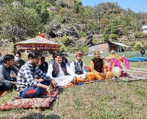 Jatra organized in Dadlaghat