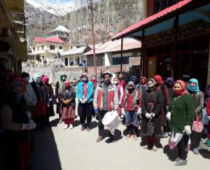 Launch of Swachhta Abhiyan in Lahaul-Spiti