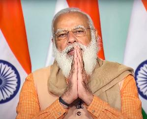 BJP celebrating its 41st foundation day, PM Modi said - BJP is a heart-winning campaign