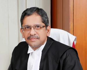 Justice NV Ramanna to be sworn in as new Chief Justice of Supreme Court