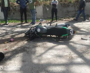 Tragic road accident occurred in Kunihar, bike driver dies