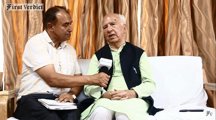 जब सीएम शांता कुमार ने पृथु से कहा ' ये सरकार तुम्हारी है' |First Verdict Media